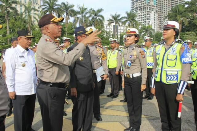 Wakil Walikota Medan Hadiri Apel Gelar Pasukan Oprasi Zebra Toba 2017