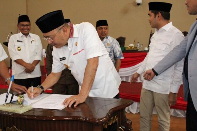 DPRD Setujui LPJ Walikota Medan 2016