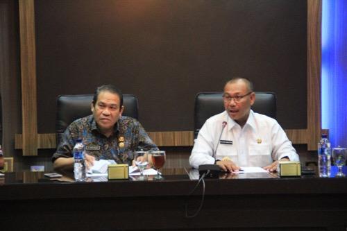 Wakil Walikota Pimpin Rapat Pengoperasian Pasar Marelan