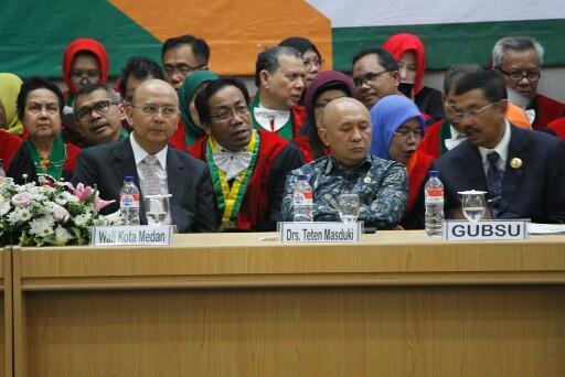 Walikota Medan Hadiri Dies Natalis USU Ke-65 Tahun