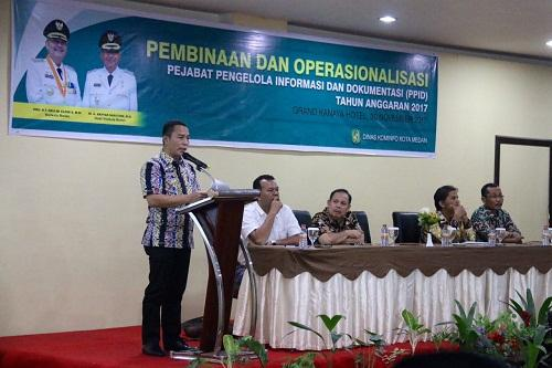 Walikota Medan : Informasi adalah Hak Asasi Setiap Manusia