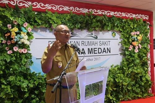 Wakil Walikota Medan Resmikan RS Hermina Medan