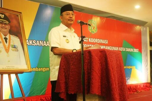 Walikota Buka Rapat Koordinasi Pelaksanaan Program Pembangunan Kota Medan