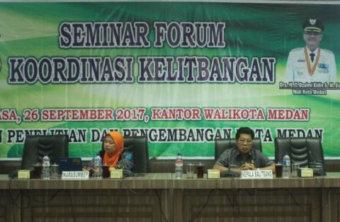 Pemko Medan Buka Seminar Kelitbangan Mendukung Kebijakan Walikota Medan