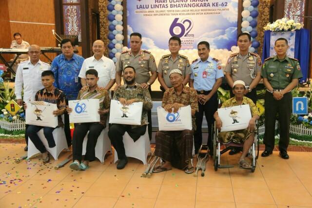 Walikota Medan Hadiri Hut lalulintas Bhayangkara Ke 62