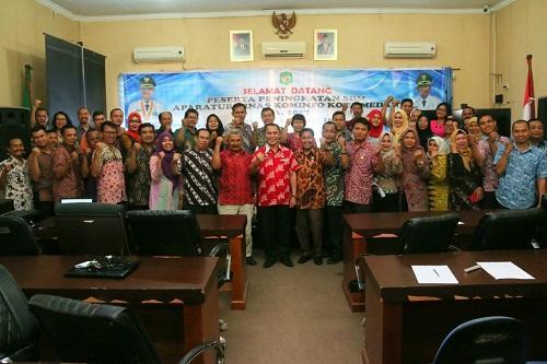 Kepala Dinas Kominfo Kota Medan buka Kegiatan Peningkatan SDM Aparatur dilingkungan Dinas Kominfo Kota Medan